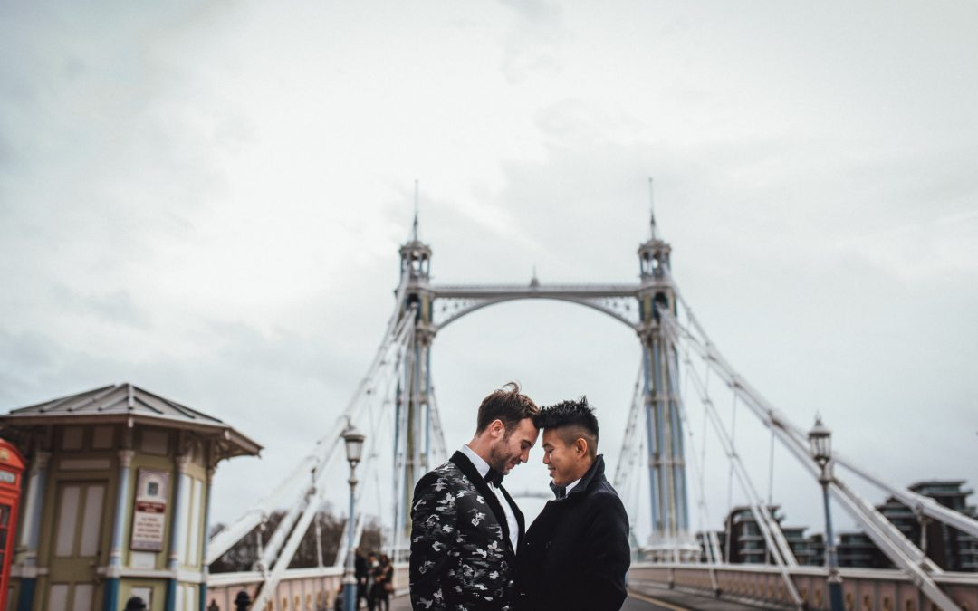 Same Sex Chelsea Town Hall Wedding | Josh & Jon
