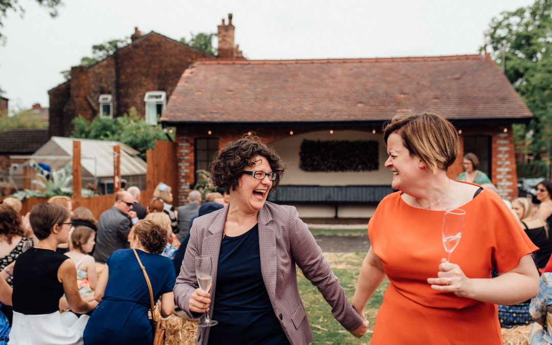 Fun, Informal outdoor wedding at The Klondyke | Hannah & Paula