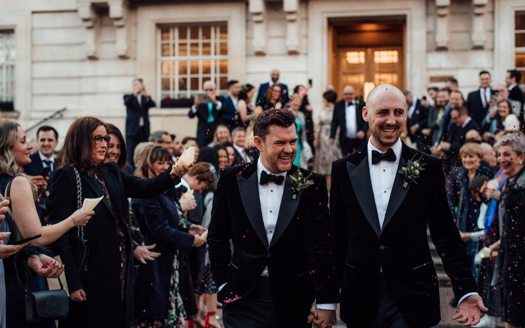 An Elegant Wedding at Bourne & Hollingsworth Buildings – Chris & Rich
