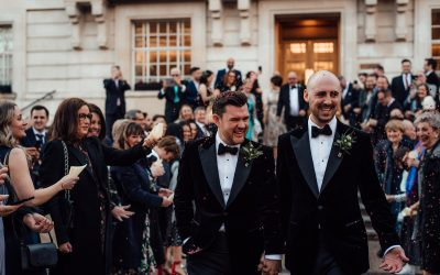 An Elegant Wedding at Bourne & Hollingsworth Buildings – Chris & Rich