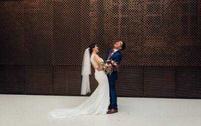 Autumnal Town Hall British Turkish Wedding |Omi & Shen