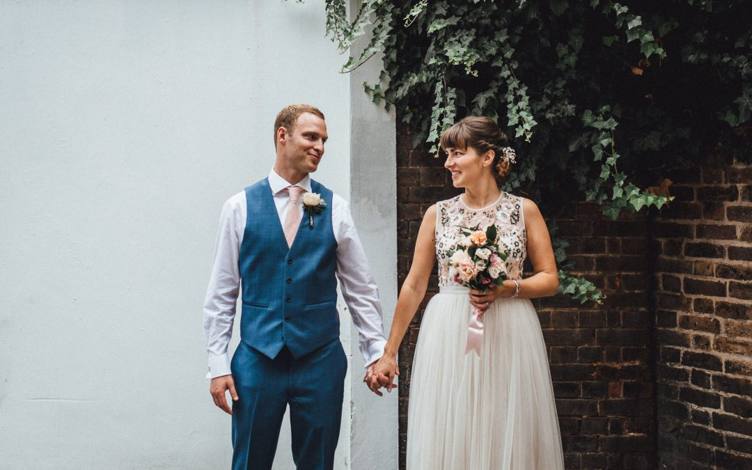Fun Hackney Town Hall Wedding | Amy & Marc