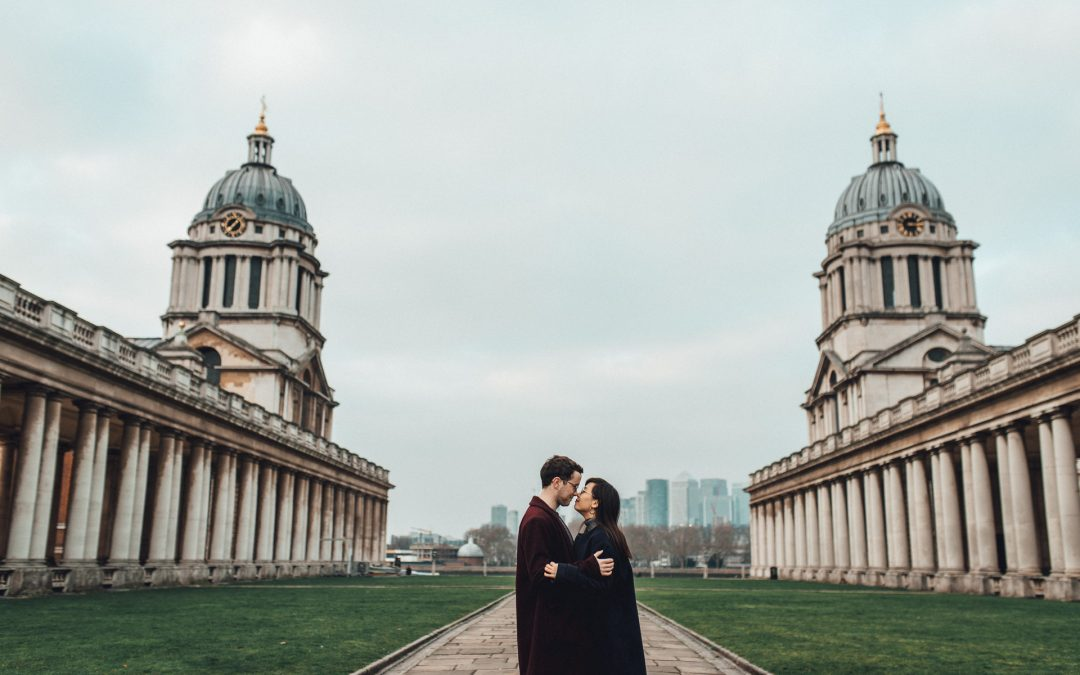 Greenwich Engagement Shoot | Naomi & Ciaran