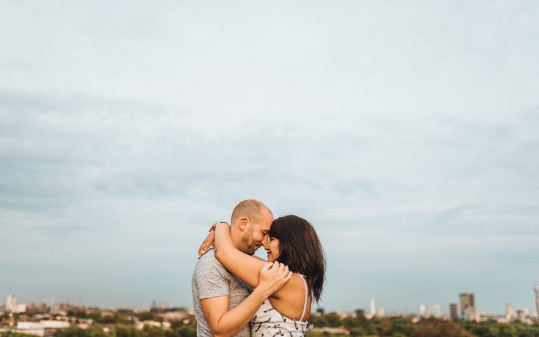 Romantic Camden Town Couples Shoot | Sammi & Gareth